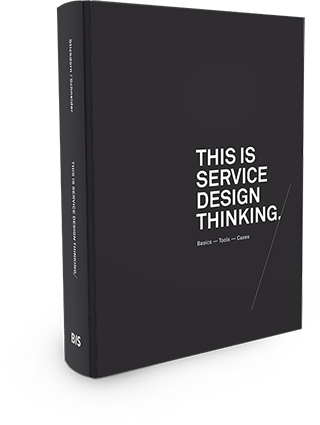 Packshot of the book 'This is Service Design Thinking'